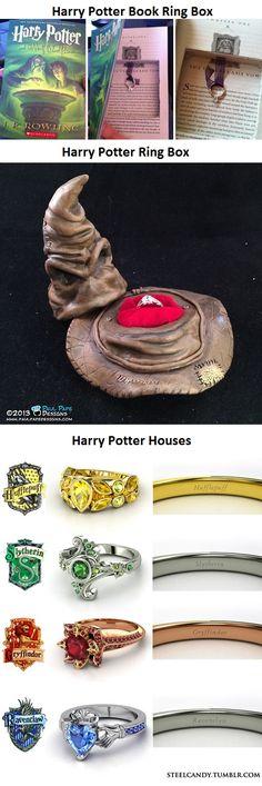 Harry Potter Wedding Ring Ideas
