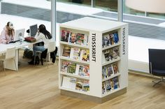 Kolding Public Library -- display/shelving
