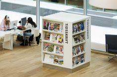 Kolding Public Library -- display/shelving