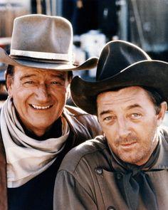 El Dorado : John Wayne, Robert Mitchum (and a very young James Caan) LOVE ME SOME JOHN WAYNE HE'S EPIC