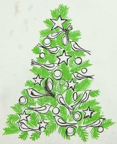 View Green Christmas Tree with Birds by Andy Warhol on artnet. Browse upcoming and past auction lots by Andy Warhol. Christmas Graphics, Christmas Art, Vintage Christmas, Andy Warhol Pop Art, Pop Art For Kids, Winter Art Projects, Arte Popular, Elementary Art, Xmas Cards