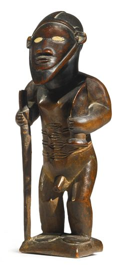 Bembe Male Ancestor Figure, Democratic Republic of the Congo | Lot | Sotheby's