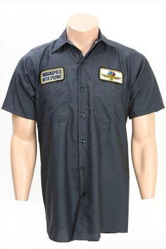 Indianapolis Motor Speedway Charcoal Mechanic Shirt
