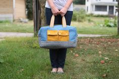 Cargo Duffle Pattern for Robert Kaufman - Noodlehead. This is a free pdf pattern