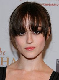 Going for fringe? Check out the best and worst styles for your face shape first -- you can thank us later