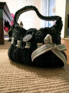 Knifty Knitter purse