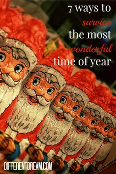 Christmas is the most wonderful time of the year and the most stressful for special needs families. Sheri Dacon offers 7 tried & true holiday survival tips