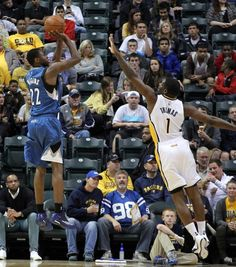 NBA: Preseason-Minnesota Timberwolves at Indiana Pacers: Andrew Wiggins with an impressive debut