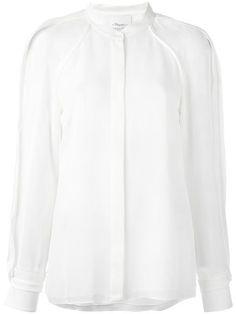 3.1 PHILLIP LIM band collar shirt. #3.1philliplim #cloth #셔츠