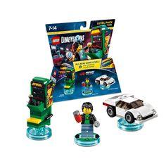 LEGO Dimensions Midway Arcade Gamer Level Pack (71235) #lego #legodimensions #legocollector #nerd #videogame #legovideogame #legogame #midway #midwayarcade #arcadegame #arcade