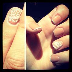 Lace wedding nails! So Incredibly beautiful!!