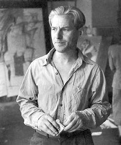 Rudy Burckhardt Willem de Kooning, New York, 1950