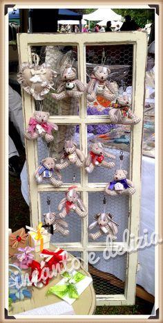 Recupero vecchia finestra con orsetti profumati