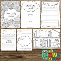 Crazy Owl, Bullet Journal, Education, Studio, Reading, Books, Homeschooling, Literature, Livros