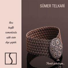 Size keyifli zamanlarda eşlik etsin diye yaptık.  #handmadejewelry #silverjewelry #giftideasforwoman #vintagejewelry #bracelets #trendy #design  http://www.sumertelkari.com/EL-ORMESI-HASIR-BILEZIK-488,PR-6244.html