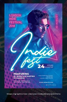 Buy Indie Night Flyer by Comodensis on GraphicRiver. 1 PSD Files Smart Object 300 dpi CMYK inches bleed area Easy to use All text editable w. Indie Festival, Festival Posters, Festival Flyer, Club Poster, Poster Art, Punk Poster, Music Flyer, Concert Flyer, Event Poster Design