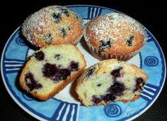 -jednoduche-muffiny-s-boruvkami Breakfast Recipes, Dessert Recipes, Desserts, Cheesecake Pops, Czech Recipes, Yummy Mummy, 4 Ingredients, Love Food, Keto Recipes