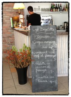 Cafe Bicyclette! This is honestly one of my favourite places to have lunch, and brush up on my French!