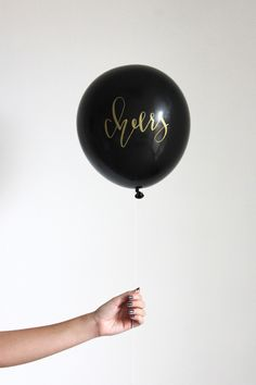 We love balloons, but the options in most party stores are lacking and we've worked really hard to create fun and pretty printed balloons for your celebrations. These bold balloons are sure to make yo