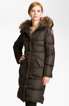 Parajumpers Down Coat with Fur Trim  #Nordstrom