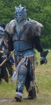 Warhammer Chaos Marauder with Helmet by Warsmith-Gryndal