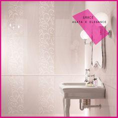 Collezione GRACE #abkemozioni #wall Agata #decor Agata Elegance #ceramica #ceramics #design #tile #bathroom