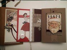 Scrap según Blokum talleres 2013 - tarjetas de navidad