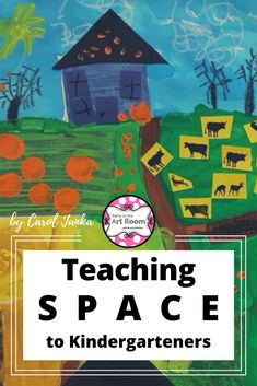 Teaching Space to Kindergarteners — Party in the Art Room Kindergarten Art Lessons, Teaching Kindergarten, Teaching Art, Preschool Learning, Learning Activities, Art Games For Kids, Art Lessons For Kids, Projects For Kids, Social Studies Classroom