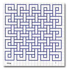Gallery of 53 best images in 2019 doodles draw graph paper art - designs to draw on graph paper Graph Paper Drawings, Graph Paper Art, Doodle Drawings, Blackwork Cross Stitch, Blackwork Embroidery, Geometric Drawing, Geometric Art, Geometric Quilt, Blackwork Patterns
