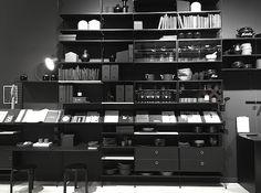 Lotta Agaton - integrated work, live, kitchen shelving