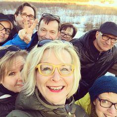 Mahtava päivä! Ystävä jäi eläkkeelle ja me kaikki juhlittiin #lintutorni #järvenpää #tuusulanjärvi #bileet #topchef