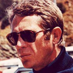 Steve McQueen styling some Persol eyewear