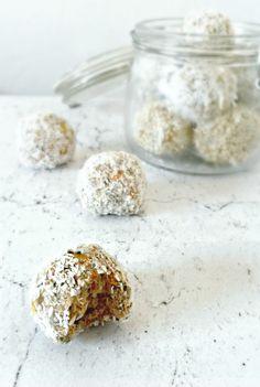 My Sweet Faery/Géraldine Olivo - Energie balls, test de recette pour mon prochain livre... - energy balls recipe testing for my upcoming cookbook...