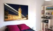 """Cuadro de londres """"Big Ben"""". Cuadro de lugares famosos. Decoración, decoración del hogar, decoración de paredes, decoración de habitaciones. Ideas de decoración."""