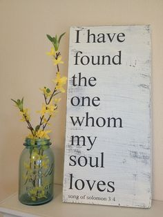 Hey, I found this really awesome Etsy listing at https://www.etsy.com/listing/161670831/i-have-found-the-one-whom-my-soul-loves