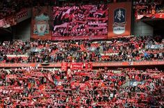 new wembley kop Liverpool Football Club, Liverpool Fc, Football Team, Kenny Dalglish, Fa Cup, England, Images, Fields, Google Search