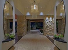 """Jennifer Aniston's """"OHANA"""" home in Beverly Hills ....an amazing design in color, mood and style....brilliant"""