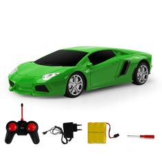 [USD6.40] [EUR5.73] [GBP4.62] Machine Deformation Remote Control Car Electric Toy Car Model (Colour: Green)