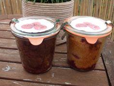 Schokohimbeerkuchen & Vanillehimbeerkuchen im Glas