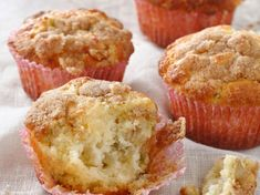 Découvrez notre recette facile et rapide de Muffin à la rhubarbe sur Cuisine Actuelle ! Retrouvez les étapes de préparation, des astuces et conseils pour un plat réussi. Crumpets, Scones, Biscuits, Caramel, Cheesecake, Cupcakes, Vegan, Cookies, Baking