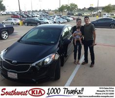 #HappyAnniversary to Christobal Arroyo on your 2014 #Kia #Forte from Harold Bennett at Southwest Kia Mesquite!