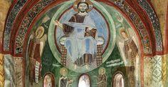 Novalesa. Affreschi della Cappella di Sant'Eldrado