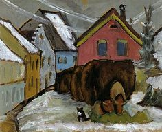 gabrielle munter | Gabriele Munter - Chaff Wagons 1910