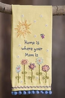 Home Is Where Your #Mom Is Dish Towel