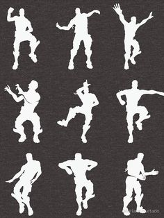 Fortnite Dabbers quot Ninja Pon Pon Dance quot SVG File by ClaireBsCaboodles on Etsy https wwwetsy