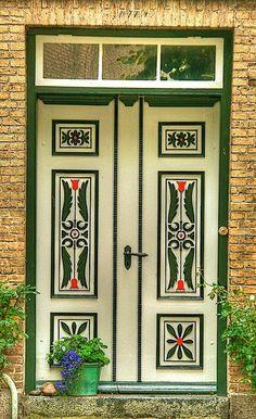Front door in Germany