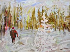 Paintings by Sirpa Särkijärvi | http://ineedaguide.blogspot.com/2015/04/sirpa-sarkijarvi.html | #art #paintings