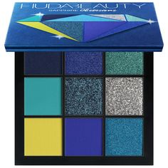 Buy Obsessions Precious Stones Eyeshadow Palette from Huda Beauty here. What it is: A range of compact eyeshadow palettes, expertly curated by Huda hersel. Makeup Palette, Eyeshadow Palette, Eyeshadows, Mac Lipsticks, Beauty Makeup, Eye Makeup, Mini Makeup, Blush Makeup, Electric Palette
