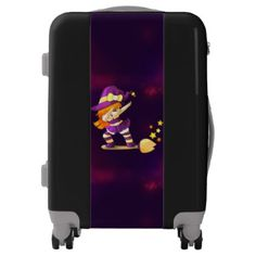 Dabbing Kawaii Witch Luggage - Halloween happyhalloween festival party holiday