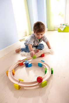 Great marble run for little ones, suitable from 1.5 years. Haba Toys My First Ball Track